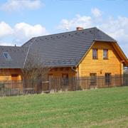 Obložení rodinného domu - KARBOLINEUM EXTRA