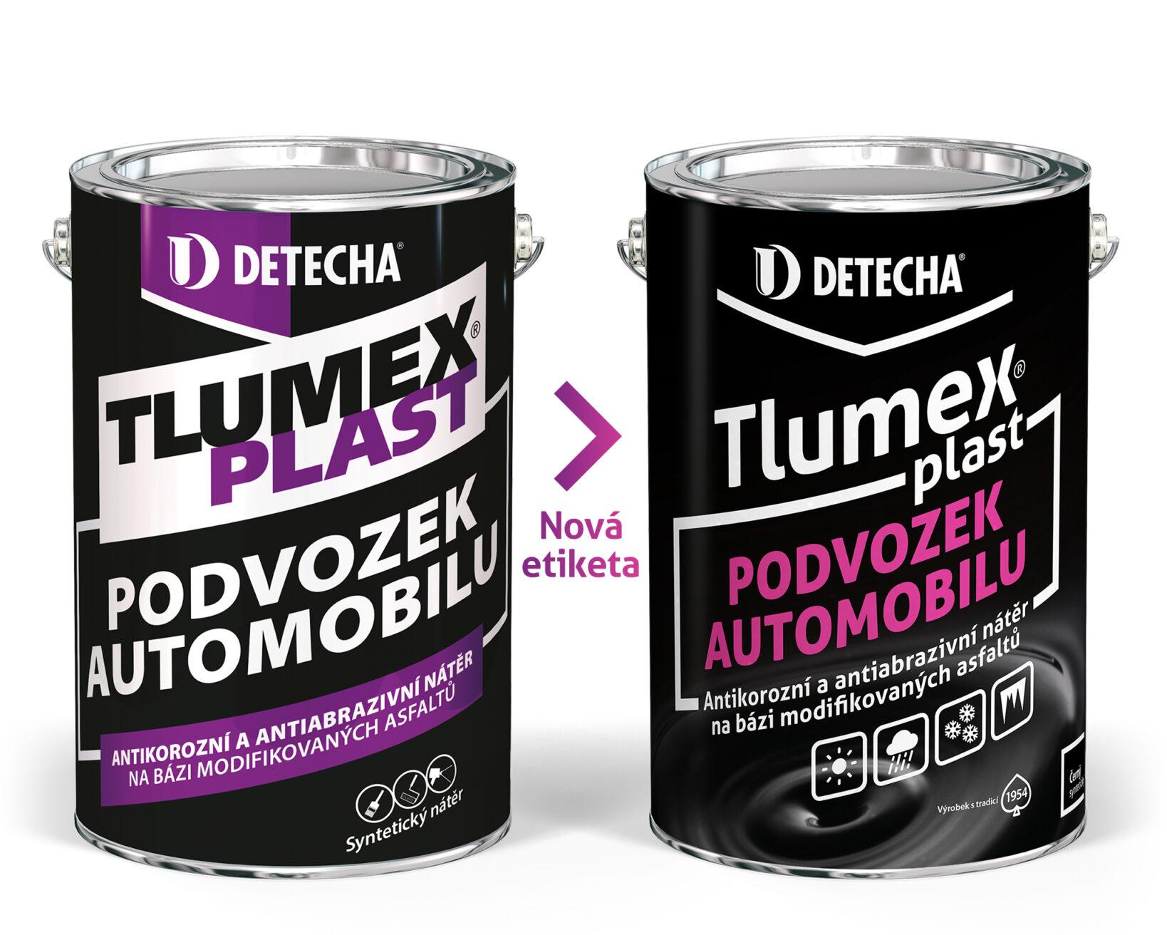 DETECHA Tlumex plast 4 kg