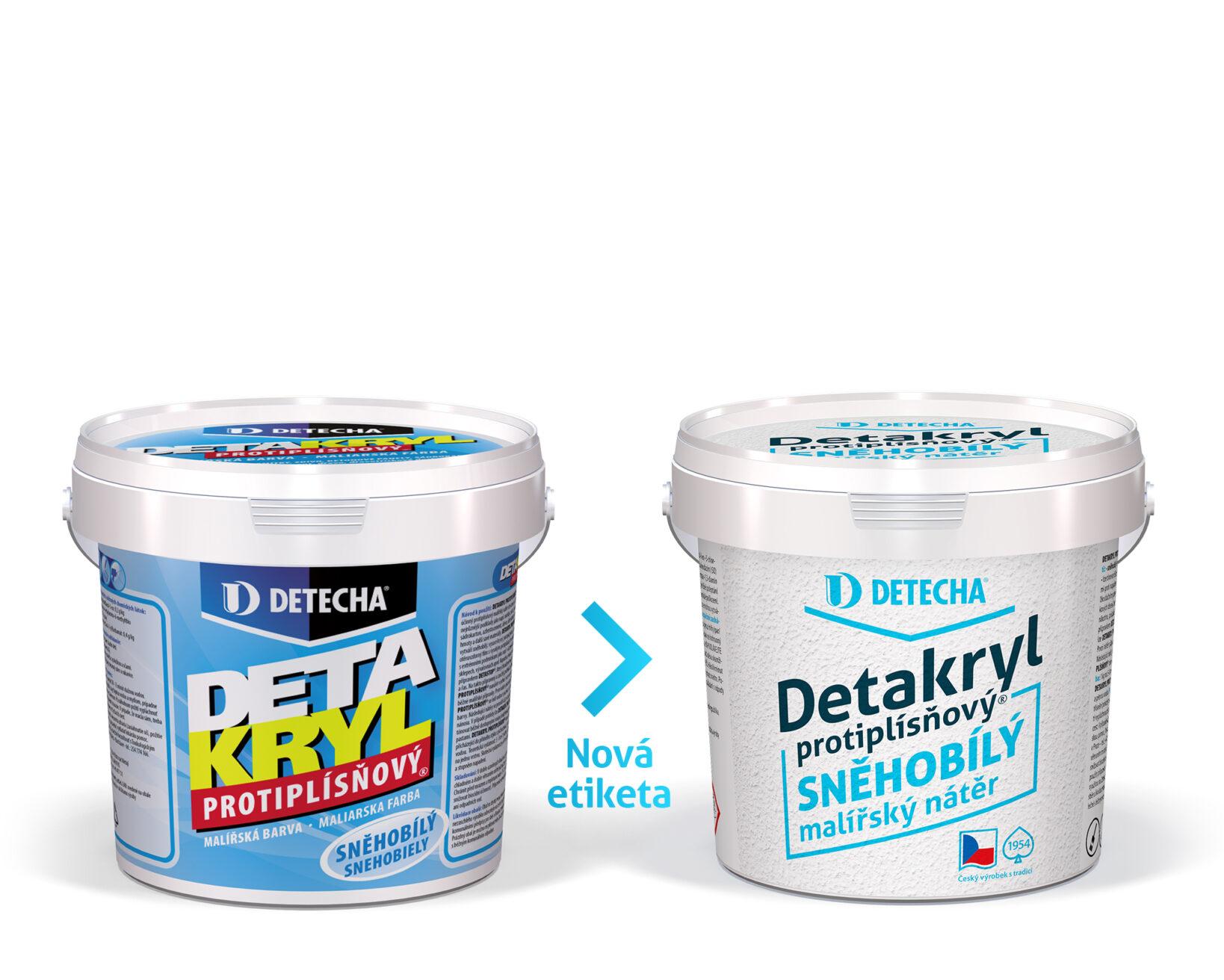 Detecha Detakryl protiplísňový 1,2 kg